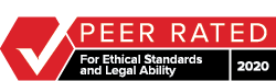 Peer Rated for Ethical Standards and Legal Ability - Martinedale-Hubbell
